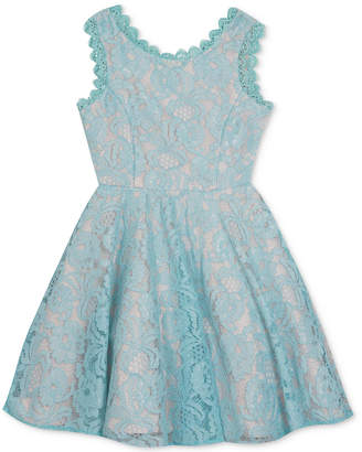 Rare Editions Big Girls Plus Lace Dress