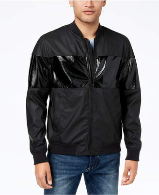 Men's Zip-Front Bomber Jacket, Created for Macy's
