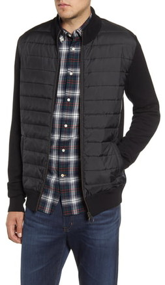 Barbour Carn Baffle Front Knit Jacket