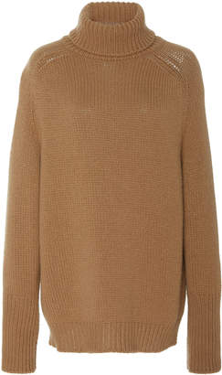 Ralph Lauren Cashmere and Silk-Blend Turtleneck Sweater