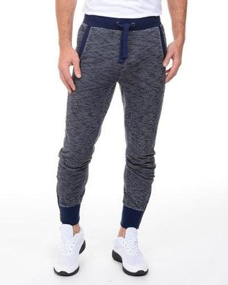 2Xist Marled Tapered Zip-Cuff Sweatpants $78 thestylecure.com