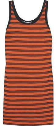 Givenchy Striped Stretch-Silk Mini Dress