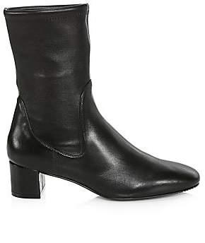 Stuart Weitzman Women's Ernestine Leather Sock Boots