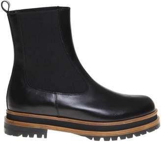 Paloma Barceló nappa Ankle Boot Color Black