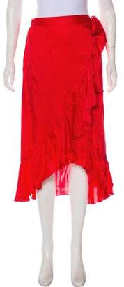 Saylor Tonal Midi Skirt w/ Tags