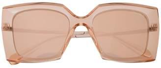 Chanel Eyewear oversized square frame sunglasses