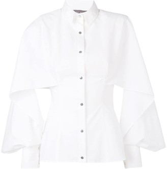 Talbot Runhof panelled shirt