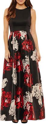 Melrose Sleeveless Evening Gown-Petite