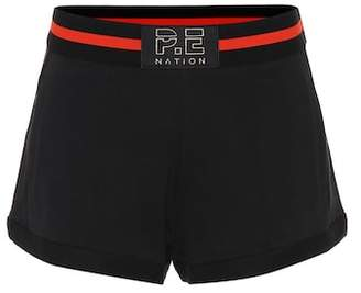 P.E Nation Just for Kicks cotton shorts