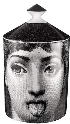 Fornasetti Antipatico Scented Candle With Lid
