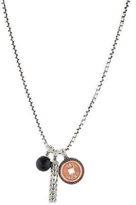 John Hardy Classic Chain & Triple Pendant Necklace