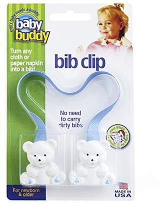 Baby Buddy Bib Clip, Blue