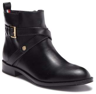 Tommy Hilfiger Rambit Faux Leather Ankle Boot