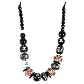 Chanel Black Pearl Necklaces