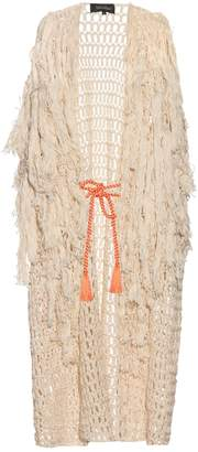 DAY Birger et Mikkelsen TABULA RASA Idris fringed knit cover-up
