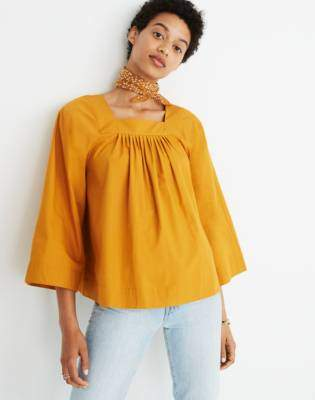 Madewell Square-Neck Top