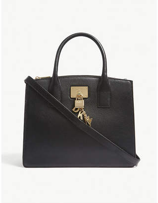 DKNY Elissa grained leather tote