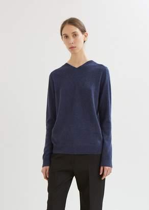 La Garçonne Moderne Margot Cashmere Reversible Pullover