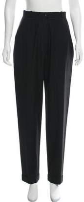 Chanel Wool High-Rise Pants