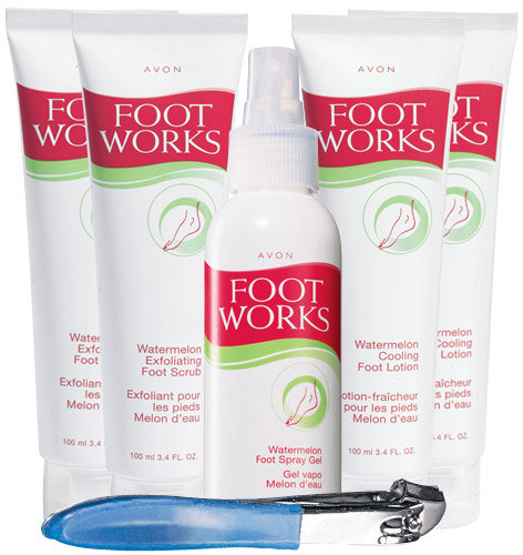 Foot Works Watermelon 6-Piece Big Deal