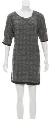 Yigal Azrouel Wool Mini Dress