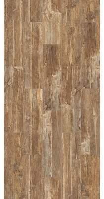 Tampico Welles Hardwood SAMPLE Ceramic Wood Look Tile in Light Brown