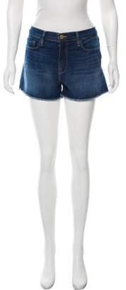 Frame Mid-Rise Mini Shorts