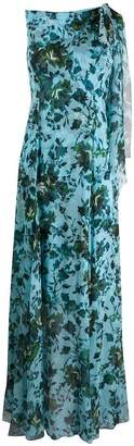 Erdem floral sleeveless long dress