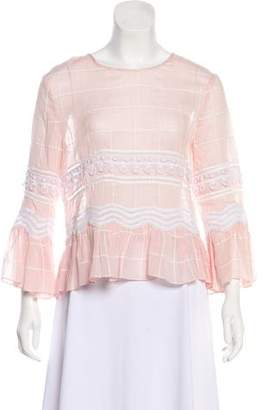 Jonathan Simkhai Long Sleeve Top