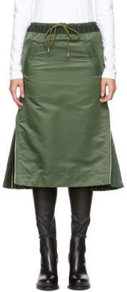Sacai Khaki MA-1 Skirt
