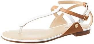 JB Martin Women's 2genie Ankle Strap Sandals, (Vert Florida Colonial/Vver White)