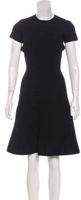 Tomas Maier Quilted Knee-Length Dress w/ Tags