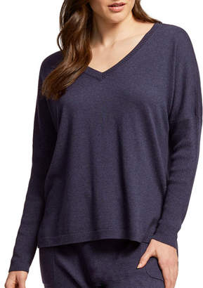 Fleurt Fleur't Cosmopolitan Luxury V-Neck Sweater
