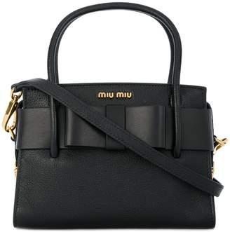 Miu Miu (ミュウミュウ) - Miu Miu マドラス フィオッコ ハンドバッグ