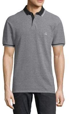 Eleven Paris Alois Contrast-Trimmed Cotton Polo