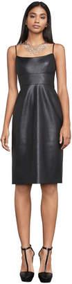 BCBGMAXAZRIA Alese Faux-Leather Dress