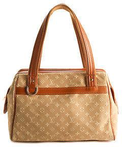 Louis VuittonLouis Vuitton Beige Mini Lin Canvas Josephine PM Satchel Handbag BCL-105 MHL