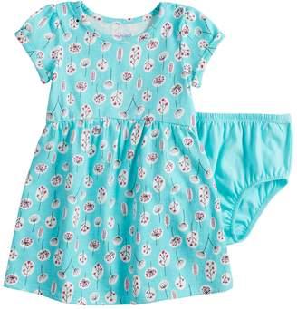 Baby Girl Jumping Beans Shirred Skirt Pattern Dress