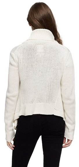 Juicy Couture Merino Wool Draped Cardigan