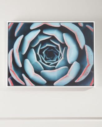 "Close-Up"" Photography Print on Canvas Framed Handmade Wall Art"""