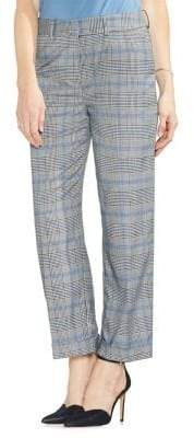 Vince Camuto Sapphire Bloom Checkered Trousers
