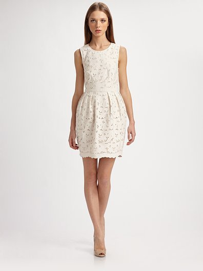 Stella McCartney Dewberry Cotton Lace Dress