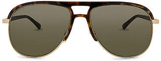 Gucci Aviator Acetate & Metal
