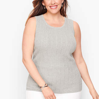 Talbots Textured Sweater Shell - Shimmer