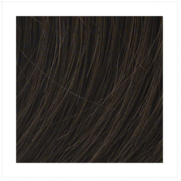 POP Put On Pieces Go Go Girl! V Shaped Clip in Extension, Ginger Brown 1 ea