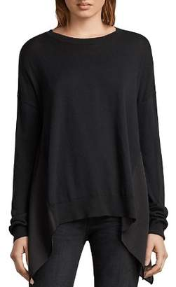 AllSaints Carmel Handkerchief-Hem Sweater
