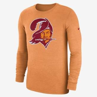 Nike NFL Buccaneers) Men's Tri-Blend Long Sleeve T-Shirt