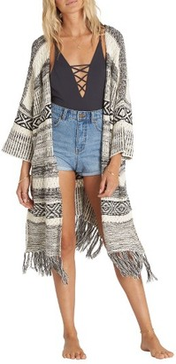 Women's Billabong Valley Trek Knit Kimono $89.95 thestylecure.com