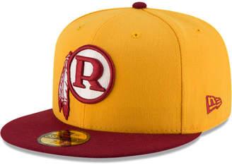 New Era Washington Redskins Team Basic 59FIFTY Fitted Cap