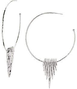 Gorjana Nora Fan Hoop Earrings
